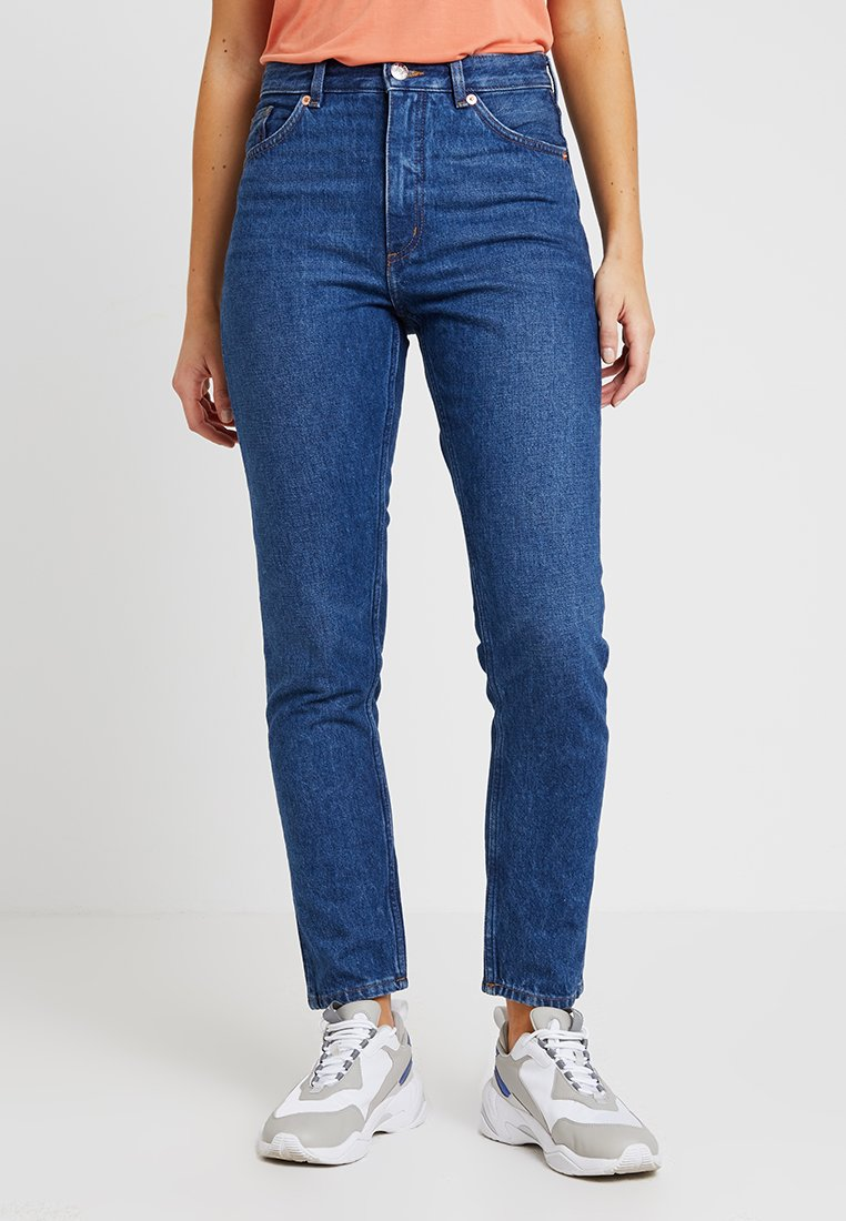 Monki - KIMOMO NEW CLASSIC - Jeans baggy - classic blue
