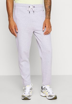 CENTRE SEAM POCKET JOGGER - Tracksuit bottoms - light grey