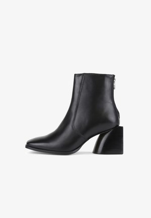 LUNA - Korte laarzen - black