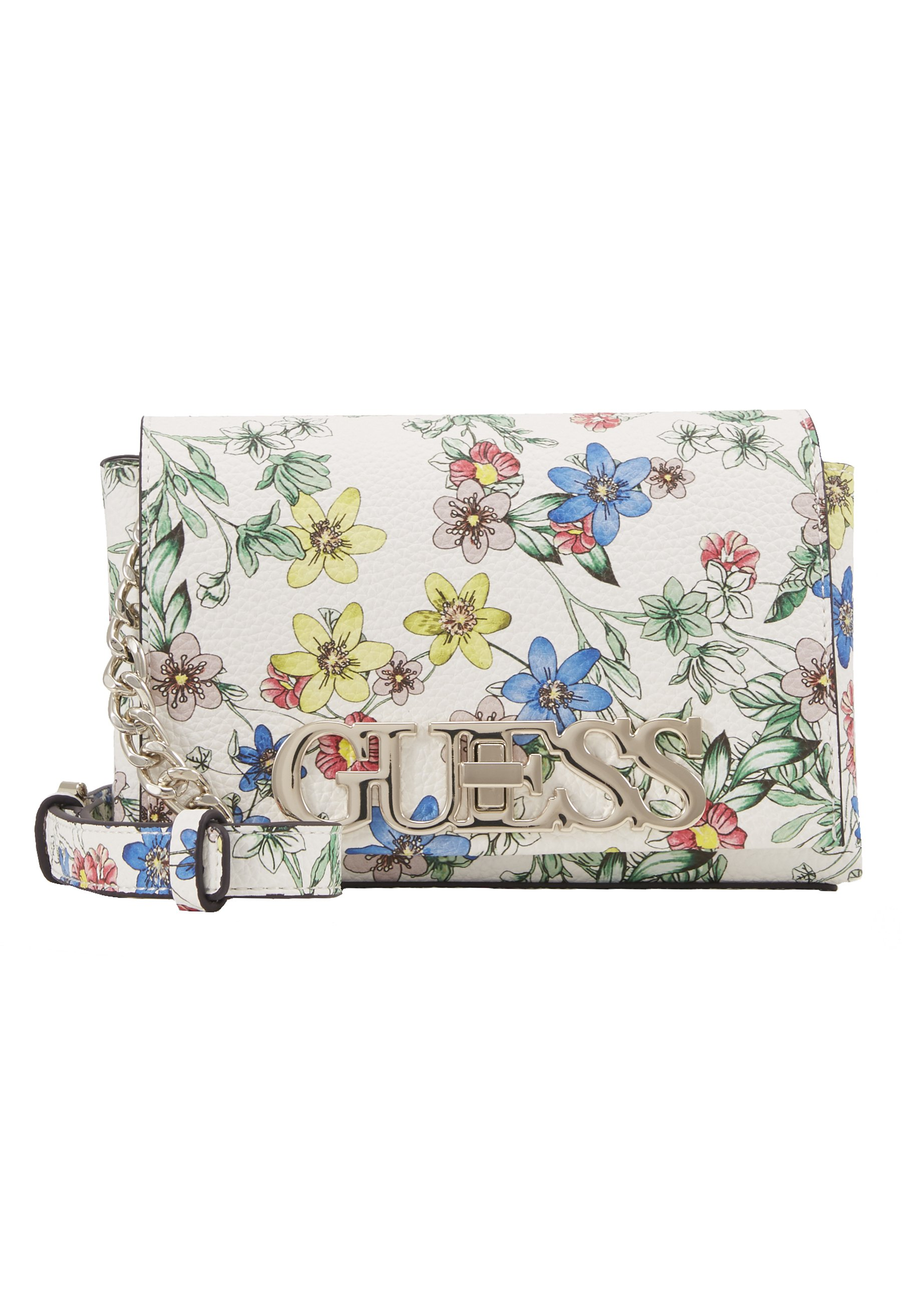 Guess Uptown Chic Mini Xbody Flap - Umhängetasche Floral/mehrfarbig