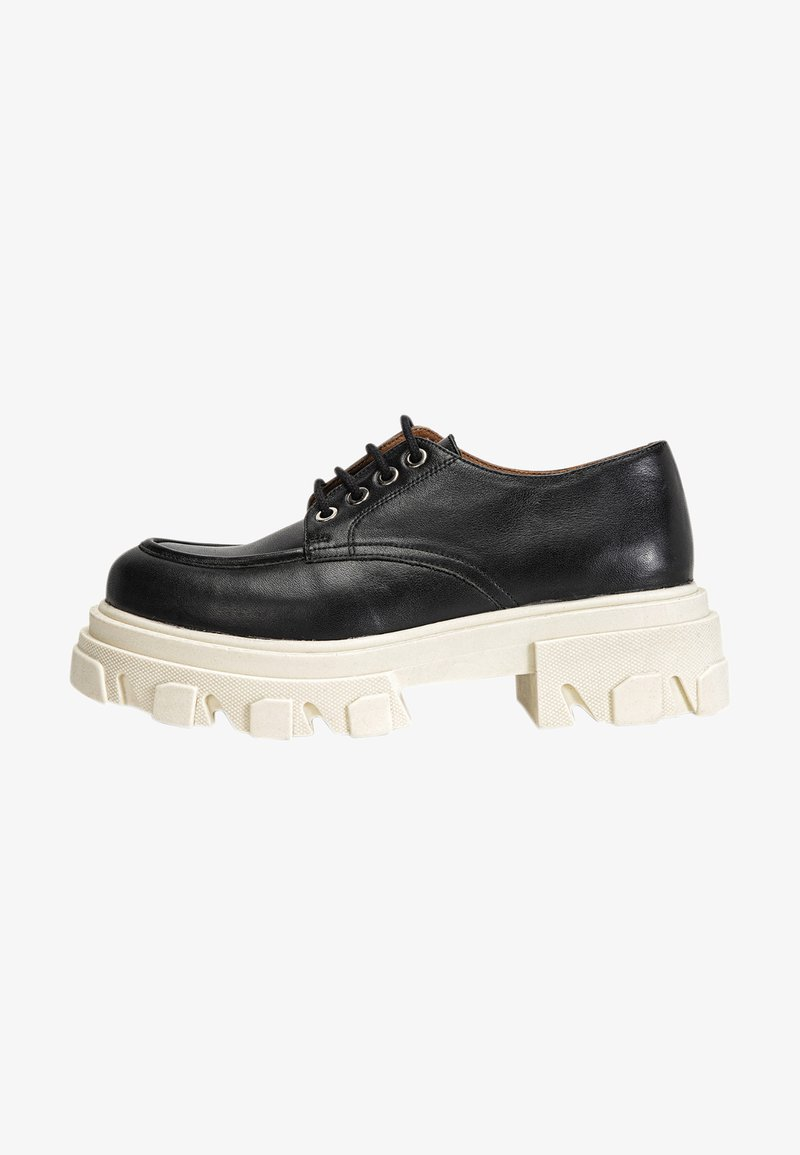 Inuovo - Chaussures à lacets - black/white blk/wht