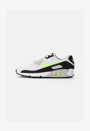 AIR MAX - Sneakers - white/hot lime-black-neutral grey