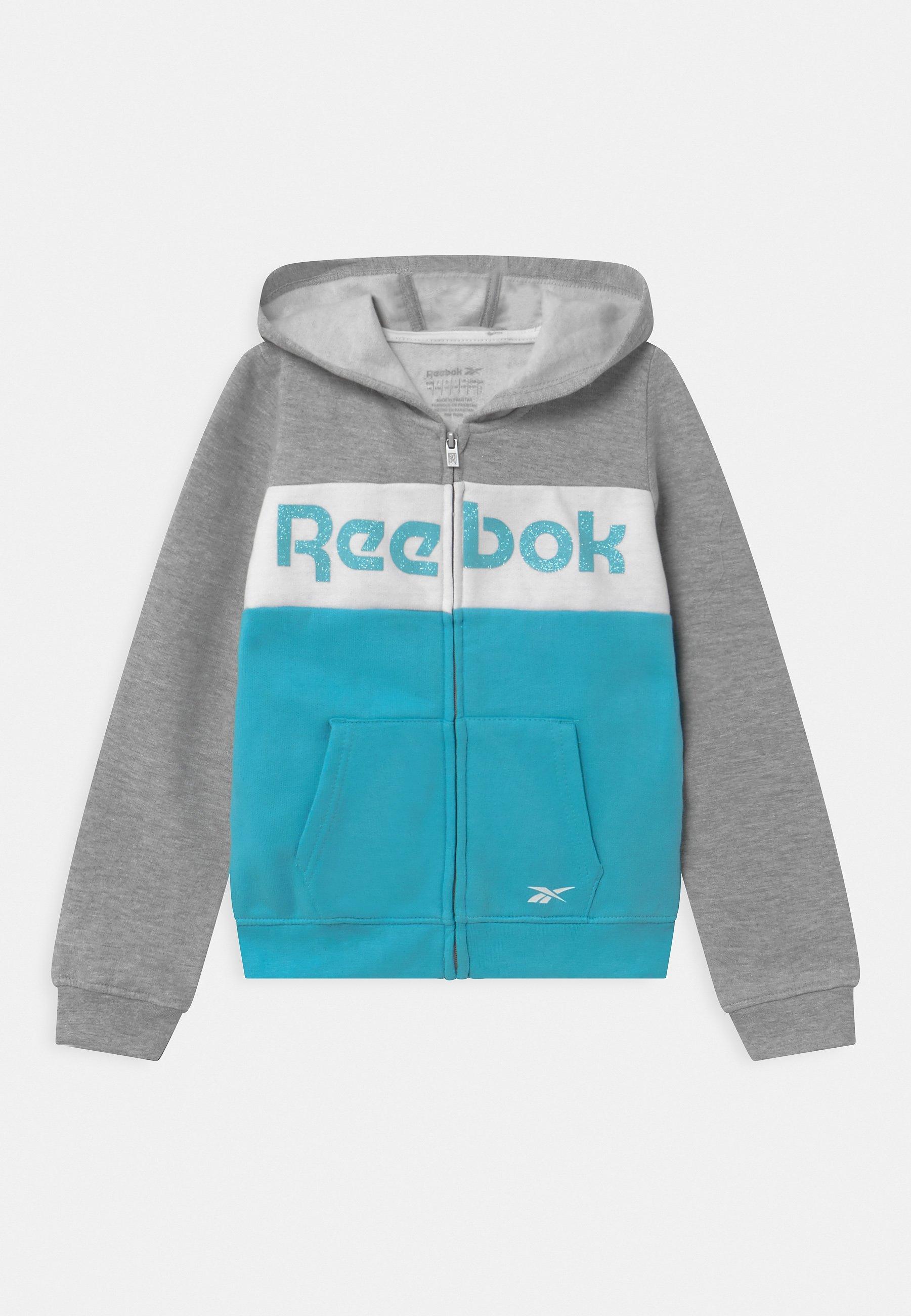 Kids FULL ZIP COLOR BLOCK HOODIE - Zip-up hoodie
