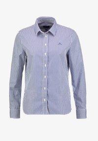 GANT - THE BROADCLOTH BANKER - Button-down blouse - indigo blue - 4