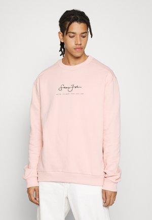 CLASSIC LOGO ESSENTIAL CREW - Sweater - light rose