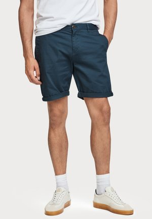 Shorts - mottled blue