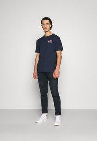 Dickies - CAMPTI TEE - Print T-shirt - navy blue - 1
