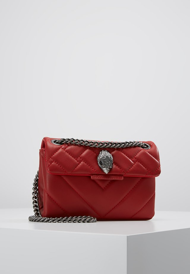 MINI KENSINGTON BAG - Schoudertas - red