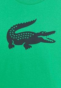 Lacoste Sport - LOGO UNISEX - Triko spotiskem - palm green/navy blue - 2