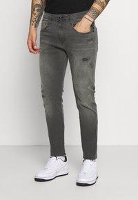 Replay - ANBASS HYPERFLEX BROKEN AND REPAIR - Jeans slim fit - medium grey - 0