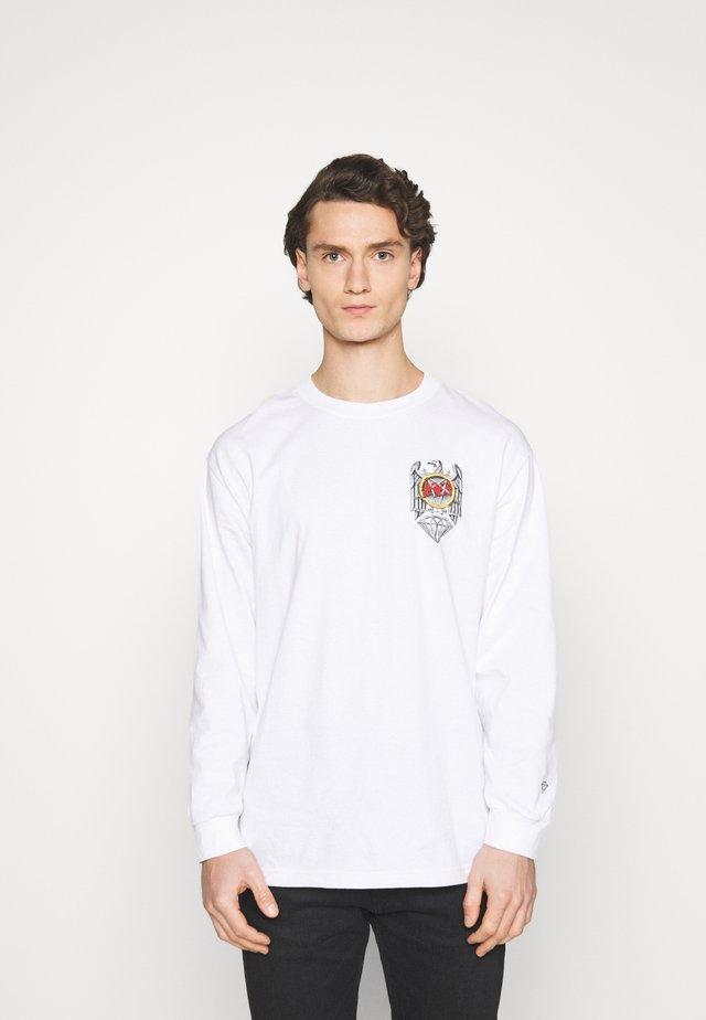 BRILLIANT ABYSS TEE - T-shirt print - white