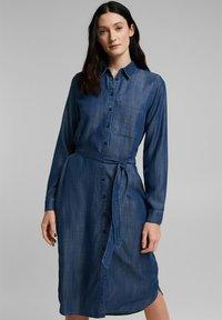 Esprit - Sukienka letnia - blue medium wash - 0