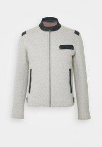 Serge Pariente - TOP MAN JOGGING - Light jacket - grey/blue - 0