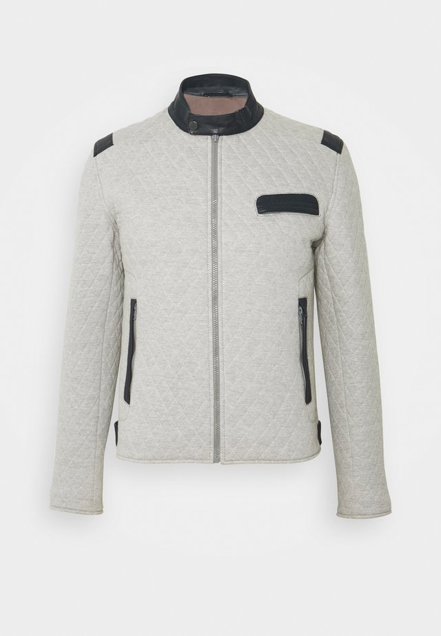 TOP MAN JOGGING - Overgangsjakker - grey/blue