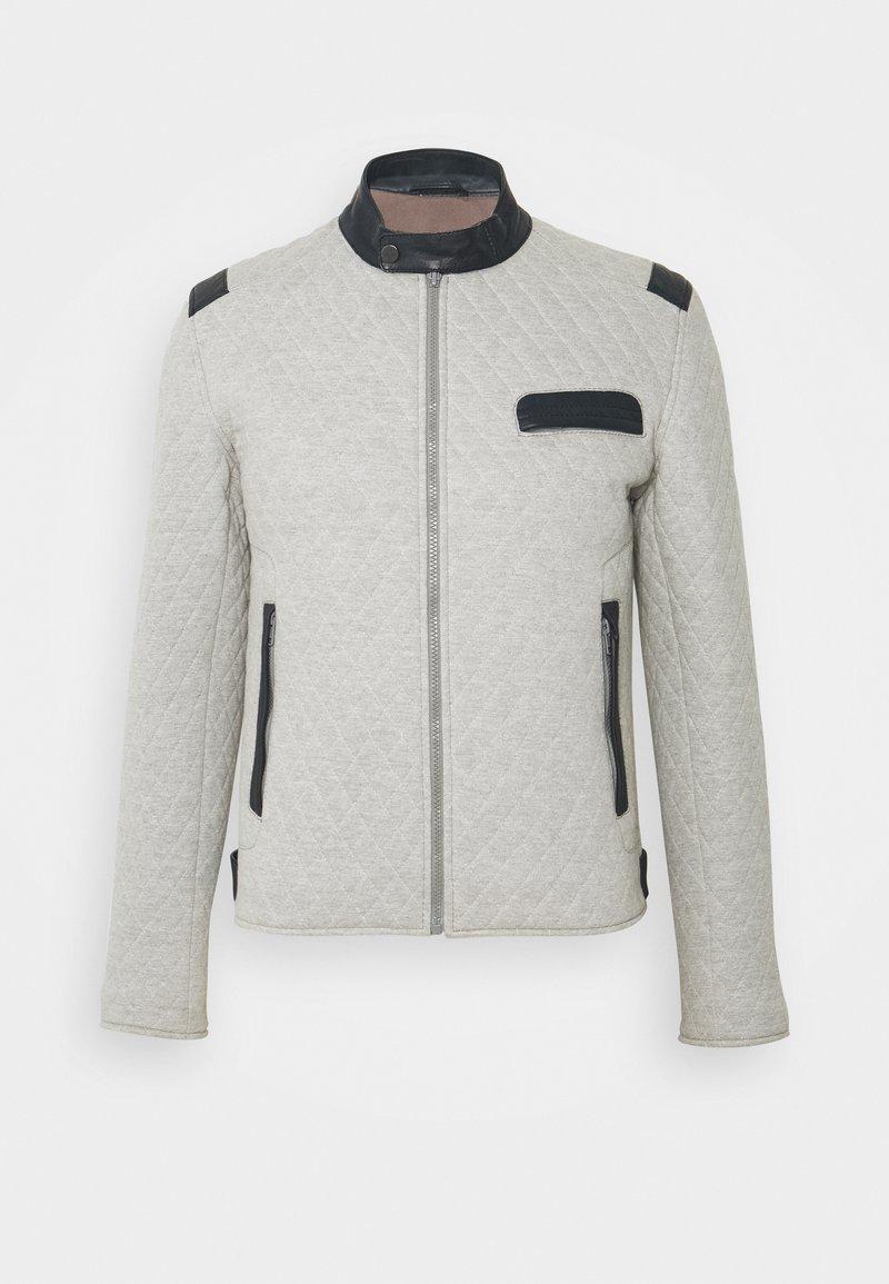 Serge Pariente - TOP MAN JOGGING - Light jacket - grey/blue