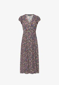 OYSHO - FLORAL  - Sukienka letnia - multi-coloured - 6