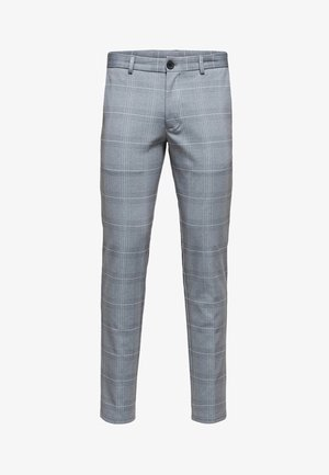 SLHSLIM-AIDEN - Trousers - grey