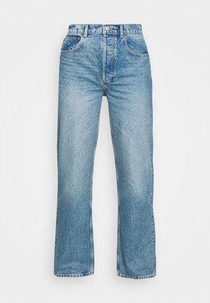 THE ZIGGY HIGH RISE - Relaxed fit jeans - dark blue