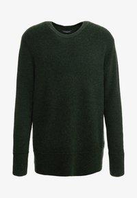 Bruuns Bazaar - CHRIS CREW NECK - Jumper - sage green - 4