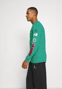 Jordan - MOUNTAINSIDE CREW - Long sleeved top - neptune green - 3