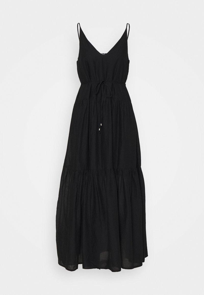 ONLY - ONLVIVI DRESS - Długa sukienka - black