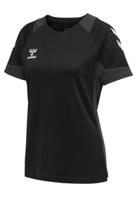 Hummel - LEAD WOMEN - T-shirt print - black - 2