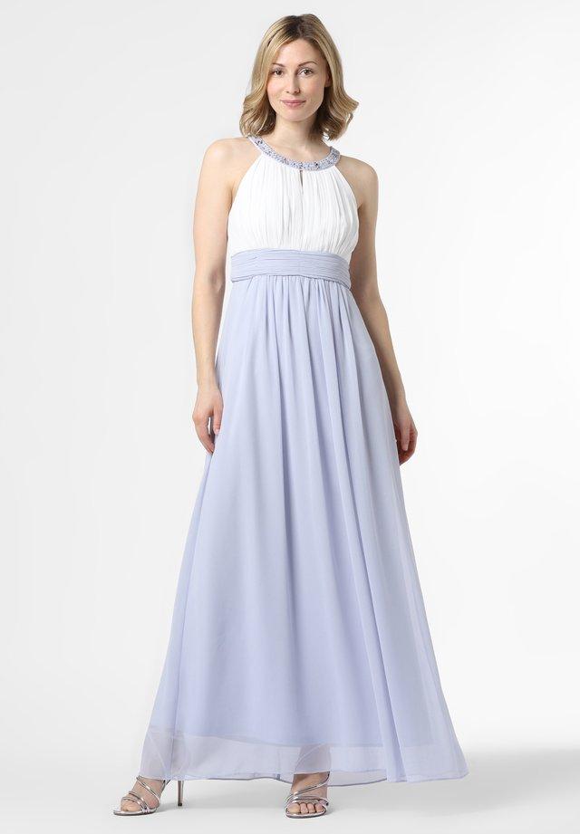 Cocktail dress / Party dress - hellblau ecru