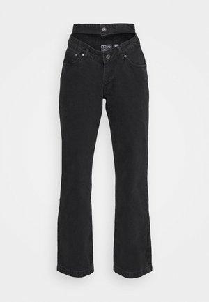 BUG JEAN  - Straight leg jeans - charcoal