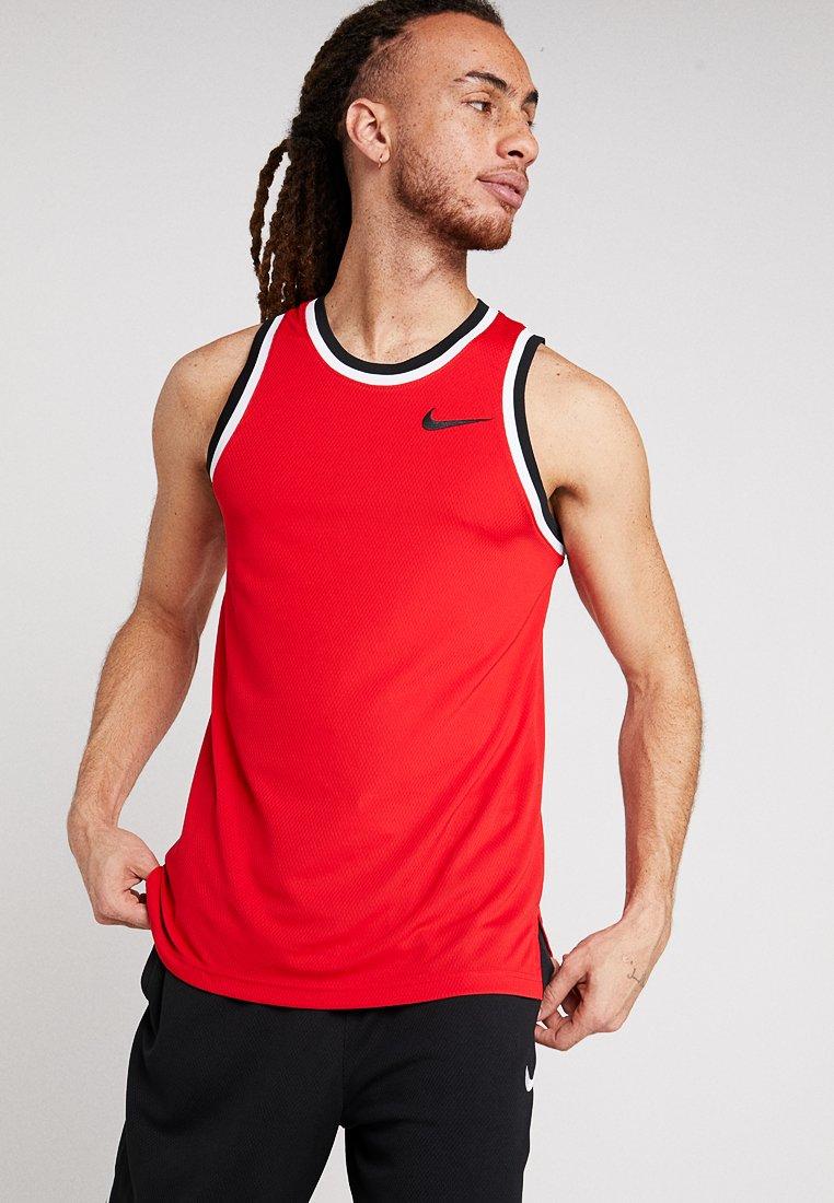 Nike Performance - DRY CLASSIC - Sports shirt - university red/black