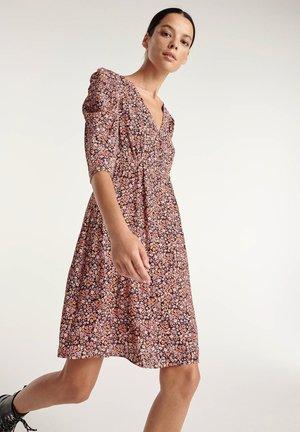 Sukienka letnia - pink/orange