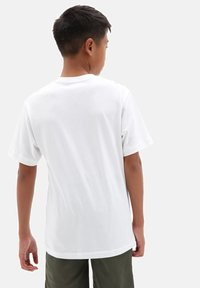 Vans - BY PRINT BOX  - Print T-shirt - white/slime - 1