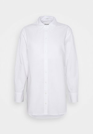 OVERSIZED COOL GIRL SHIRT - Button-down blouse - white