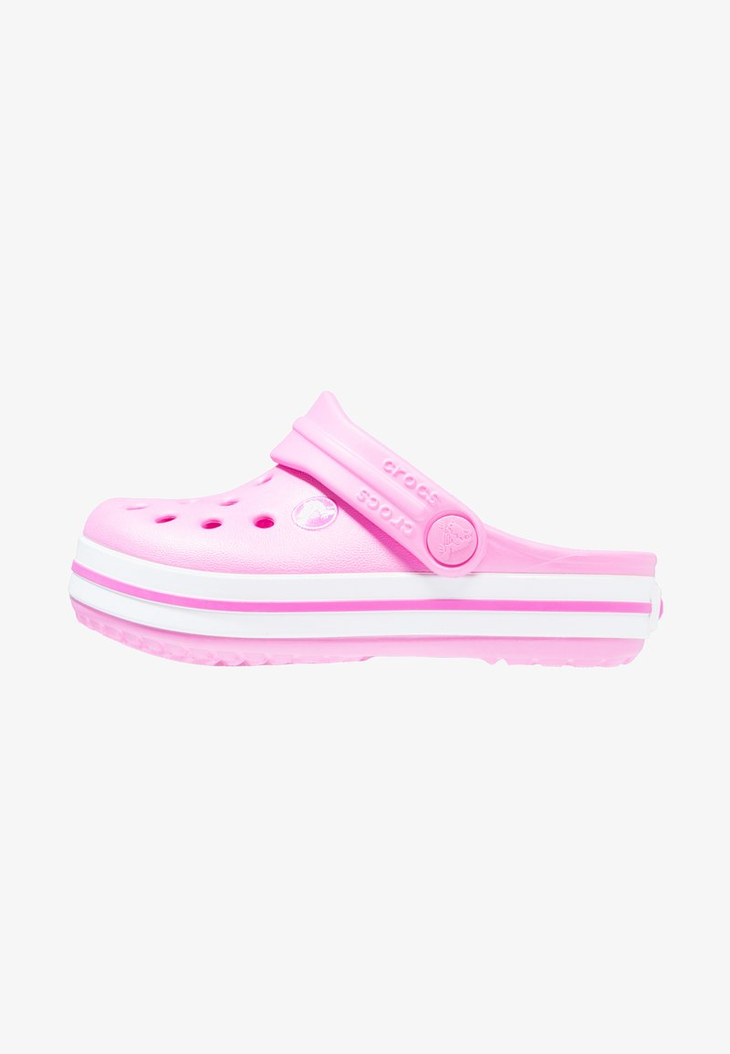 Crocs - CROCBAND - Sandały kąpielowe - party pink