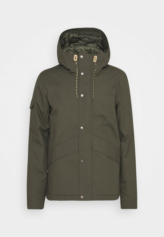 SHORT JACKET - Winter jacket - army