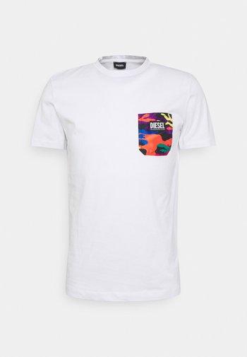 PRIDE DIEGO UNISEX - Print T-shirt - white