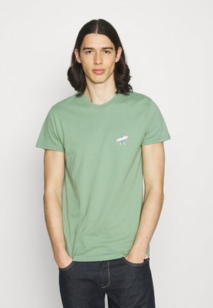 REGULAR - Print T-shirt - light green
