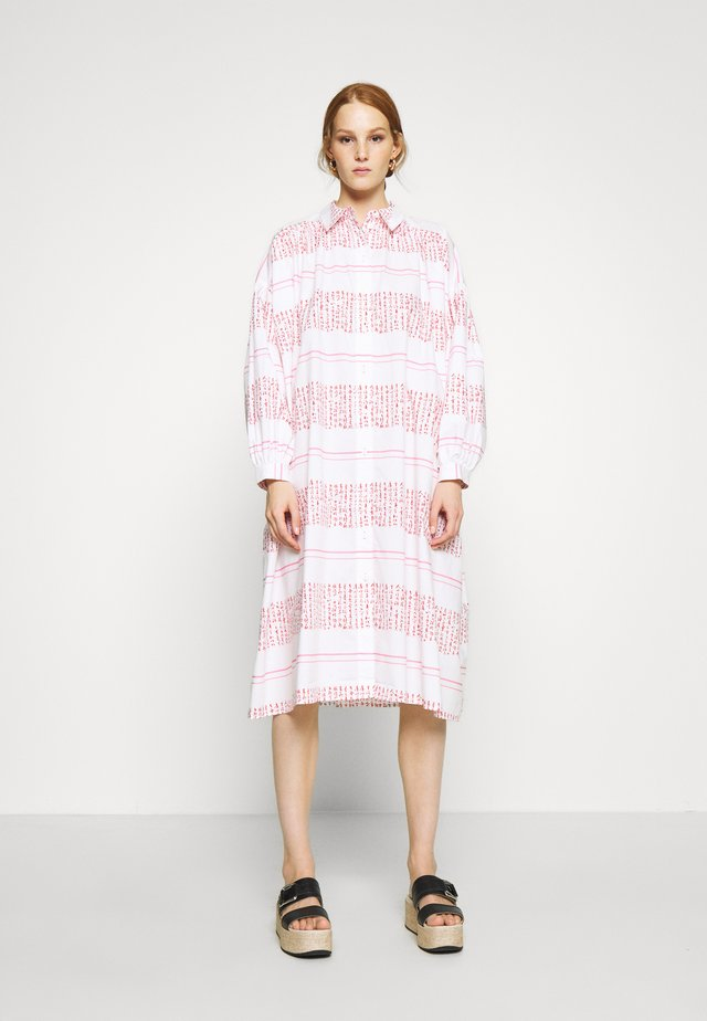 VENUS - Shirt dress - white