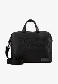 Calvin Klein - INDUSTRIAL MONO SLIM LAPTOP BAG - Aktovka - black - 7