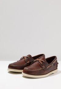 Sebago - DOCKSIDES PORTLAND  - Boat shoes - brown - 2
