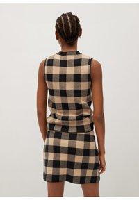 Mango - SCARLATA - A-line skirt - marron moyen - 2
