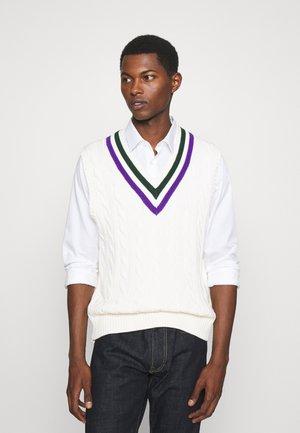 TENNIS VEST - Pullover - cricket cream