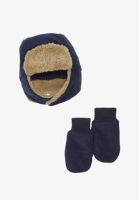 GAP - TODDLER GIRL SET - Beanie - tapestry navy - 3