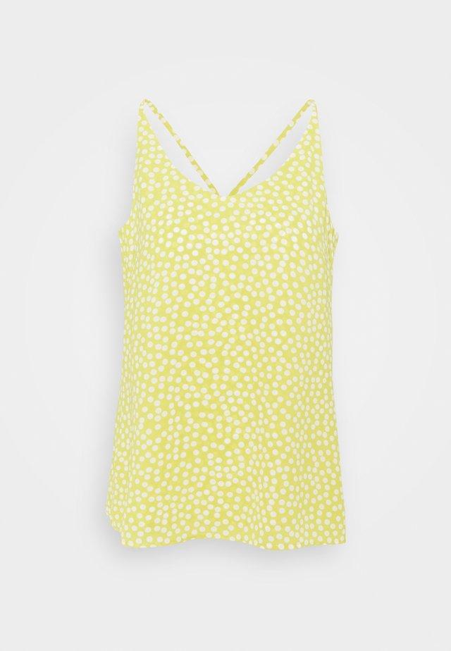 Top - light yellow