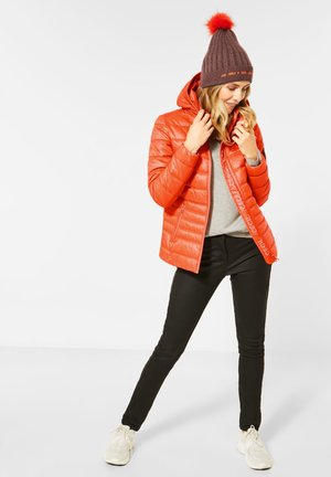 STEPPJACKE - Light jacket - orange