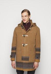PS Paul Smith - MENS DUFFLE COAT - Classic coat - camel/blue - 0