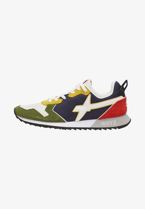 JET - Sneakers basse - gold/military green