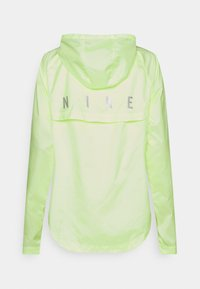 Nike Performance - RUN JACKET - Sports jacket - barely volt/reflective silver