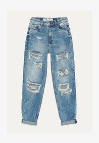 Bershka - Jeans Straight Leg - blue denim - 5
