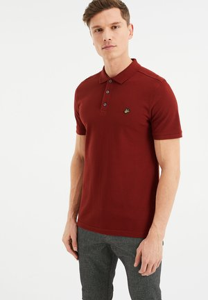 Polo shirt - vintage red