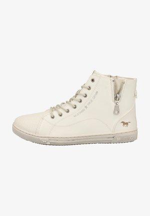 Sneakers hoog - weiß